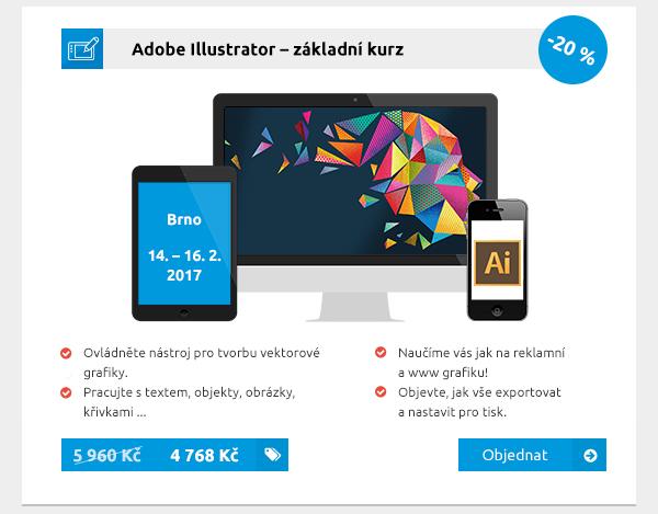 Adobe Illustrator – základní kurz