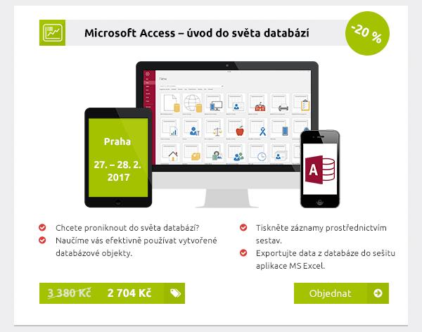Microsoft Access – úvod do světa databází