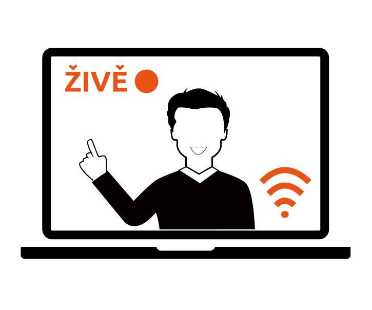 Informace o výuce interaktivní on-line formou s lektorem