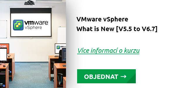 Kurz VMware vSphere - What is new [V5.5 to V6.7]