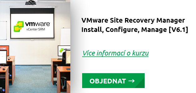Kurz VMware Site Recovery Manager - Install, Configure, Manage V6.1
